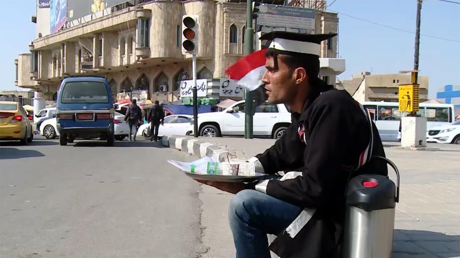 """""""كورونا"""" يخلّف البطالة والأزمات العائلية  في العراق"""