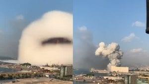 سحابة (هيروشيما) تُغطي بيروت.. ومدير جمارك لبنان يكشف الحقيقة