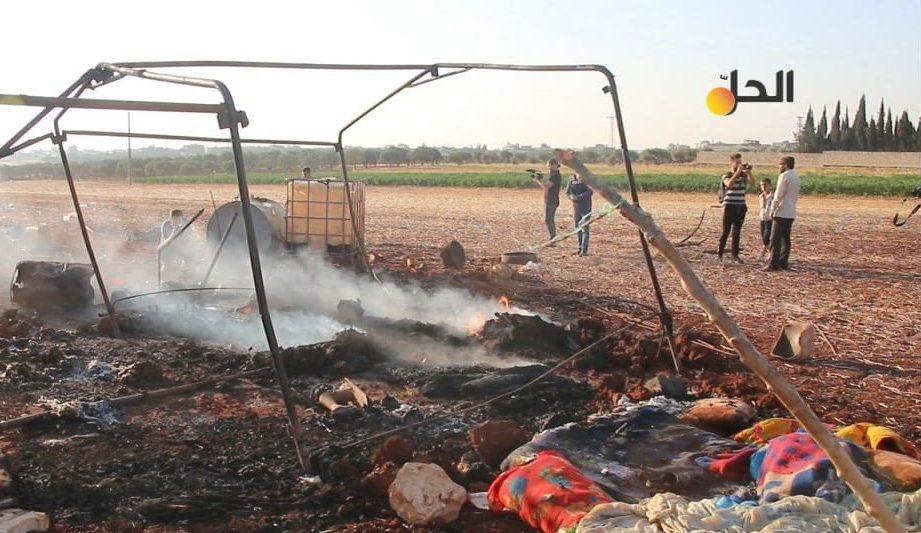 """قتلى وجرحى بقصفٍ للطائرات الروسية على محيط مدينة """"بنش"""" شمال شرقي إدلب"""