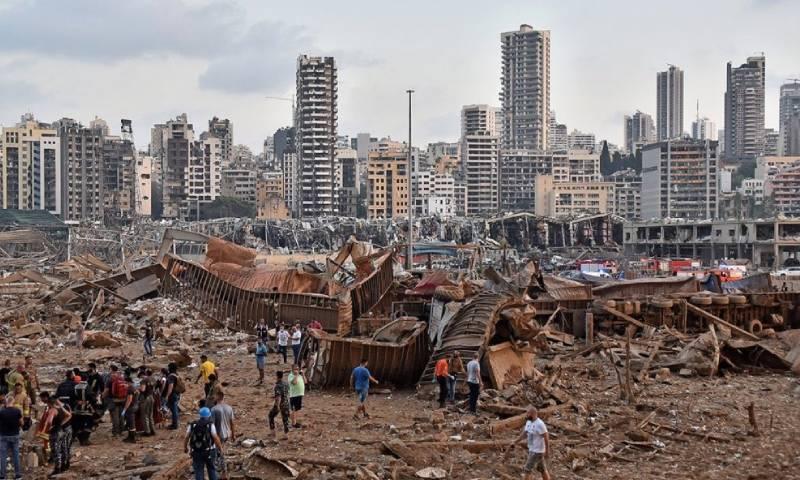 ماهي قيمة خسائر التجار السوريين نتيجة انفجار مرفأ بيروت؟