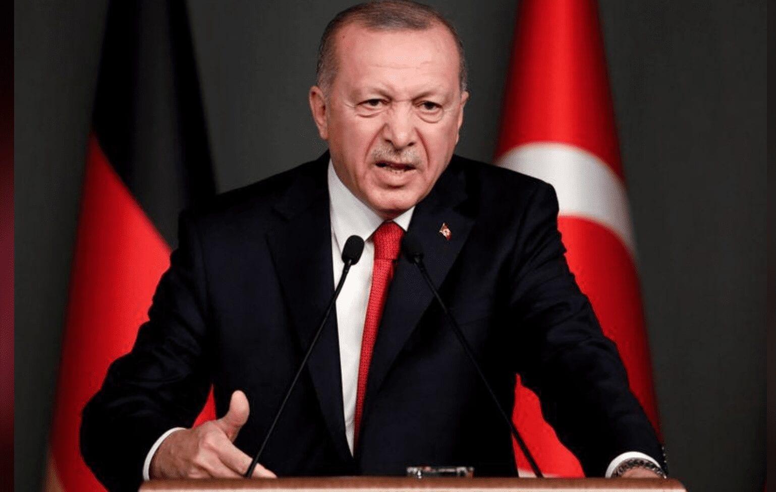 """باعترافٍ غير مباشر.. """"أردوغان"""" يكشف مُخططه لتوسيع مطامعه في دول الجوار"""