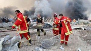 """فيديو- هذا ما بقي من """"بيروت"""" بعد الانفجار"""