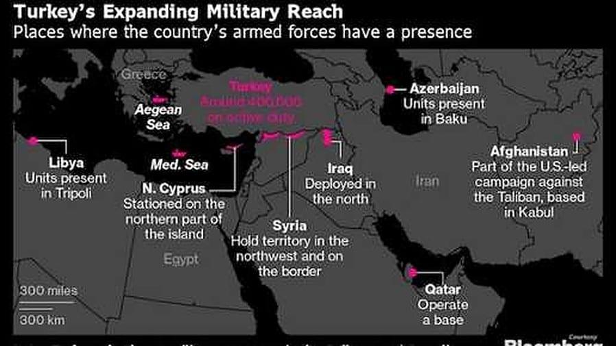 """بضمنها سوريا والعراق.. """"إردوغان"""" يطارد شبح """"المجد العثماني"""" في /10/ دول"""