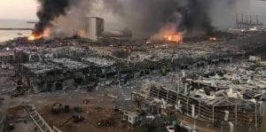 رواياتٌ مُتضاربة عن أسباب انفجار بيروت.. ومسؤولون أميركيون يكشفون الحقيقة