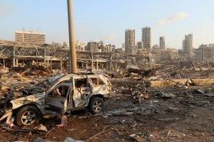 الحصيلة الأولية لضحايا انفجار المرفأ في بيروت