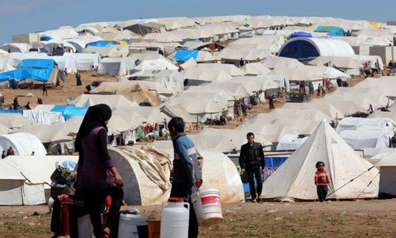 نازحو شمالي حلب…  فقر شديد ومساعدات لا تسد الرمق