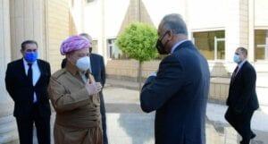 تنديدٌ من حكومة وقادة إقليم كردستان بعد إحراق مقر حزب كردي في بغداد