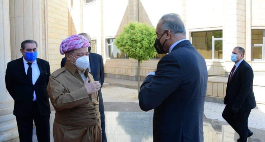 """بين المسؤولين والمنافذ والمخيّمات والأنفال.. حكاية زيارة """"الكاظمي"""" لكردستان العراق"""