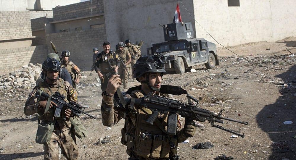 """القوات العراقية تُلاحق """"داعش"""" في كنعوص… عملياتٌ برية وجوية"""