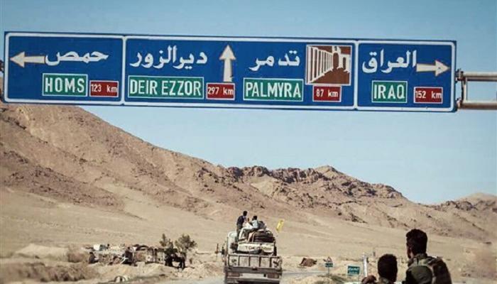 ميليشيات عراقية وإيرانية تتقاسم طريق شرقي سوريا