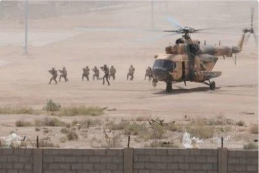 اعتقال خمسة أشخاص بإنزال جوي للتحالف بدير الزور
