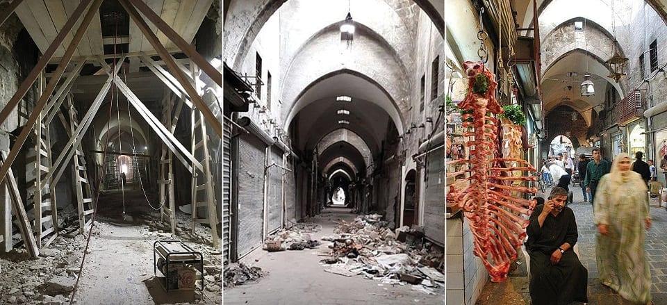 الظّهورُ من بينِ الأنْقاض.. قصّة معالِم سوريا المُدمَّرة