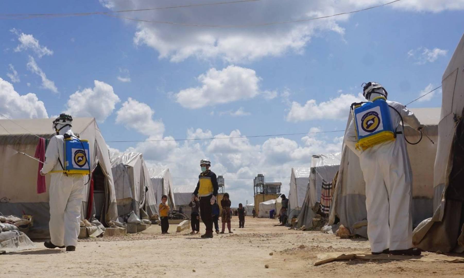 بسبب كورونا.. تحذيرات من كارثة إنسانيّة شمال غربي سوريا