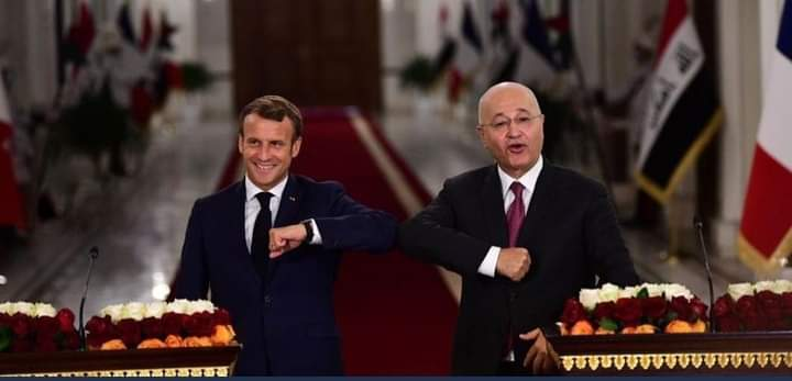 """«رسائل لدَولتَين»: ما سِر زيارة """"ماكرون"""" والاهتمام الفرنسي ببغداد؟"""