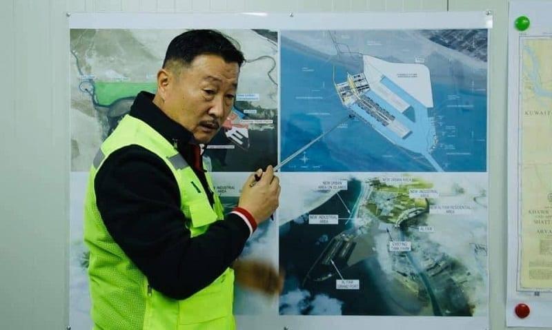"""انتحار مدير الشركة الكورية المنفذة لميناء """"الفاو الكبير"""" بالبصرة"""