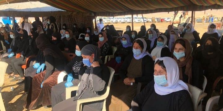 العراق: فتح مقبرة جماعية لعشرات الضحايا الإيزيديات في سنجار