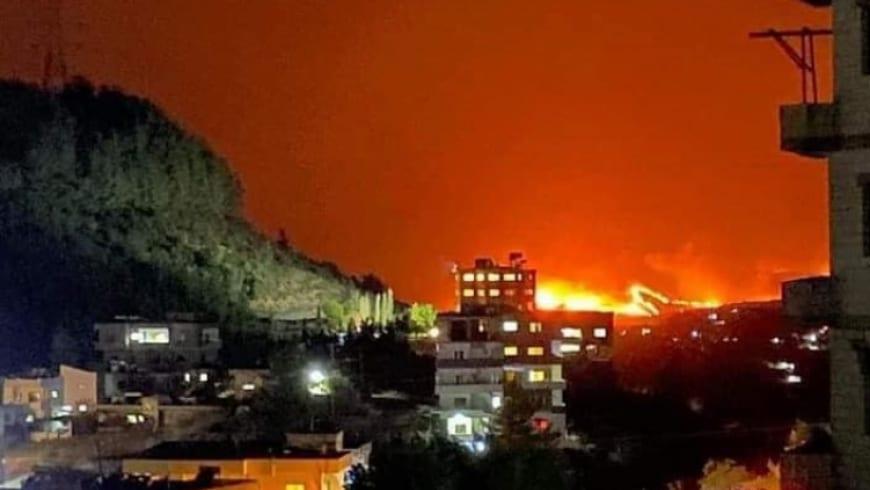 طلاس يتّهم السلطات السوريّة بافتعال حرائق الساحل بالاتفاق مع إيران
