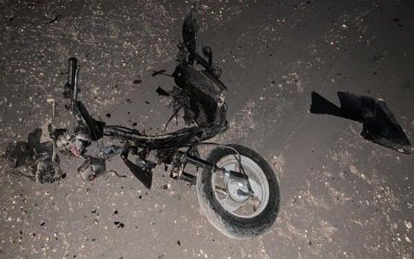 """إصابة مدنيين اثنين بانفجار دراجة مفخخة بريف """"القامشلي"""" الغربي"""