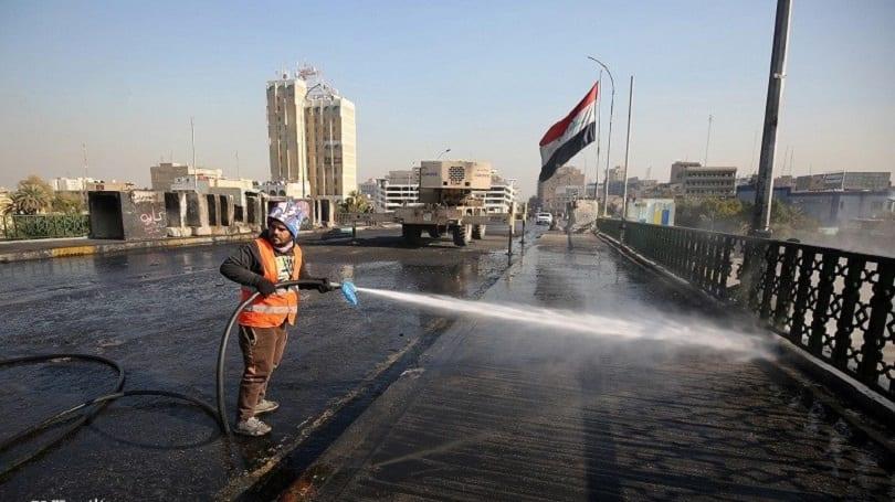 القوات العراقية تُعيد فتح جسر الجمهورية وساحة التحرير بعد عامٍ من الإغلاق