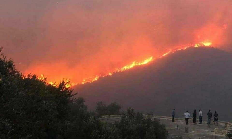 وفاة شخصين واختناق نحو 20 آخرين بسبب الحرائق المندلعة في الساحل السوري