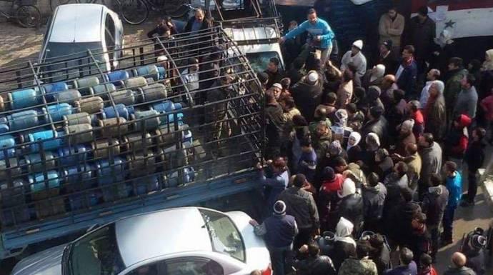 أزمة الغاز في سوريا… سوق سوداء وتحليق أسعار المأكولات الشعبية