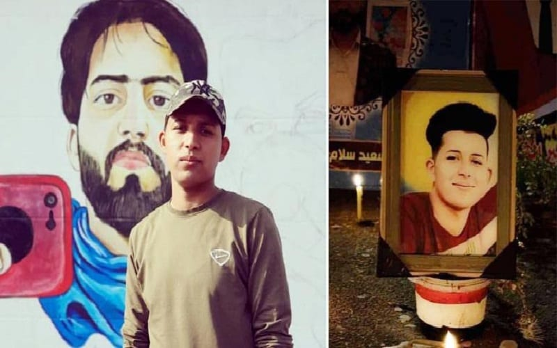 """امتعاضٌ في العراق بعد تخريب قبر المتظاهر """"عُمَر سعدون"""""""