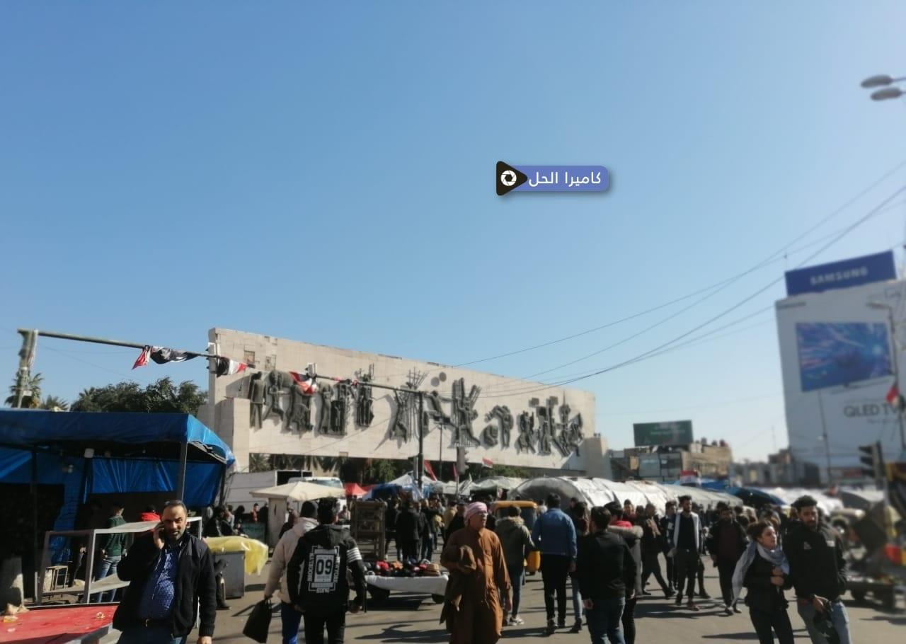 """متظاهرو بغداد يستعدون لتجديد """"الانتفاضة""""… هل ينتظرهم القنّاص؟"""