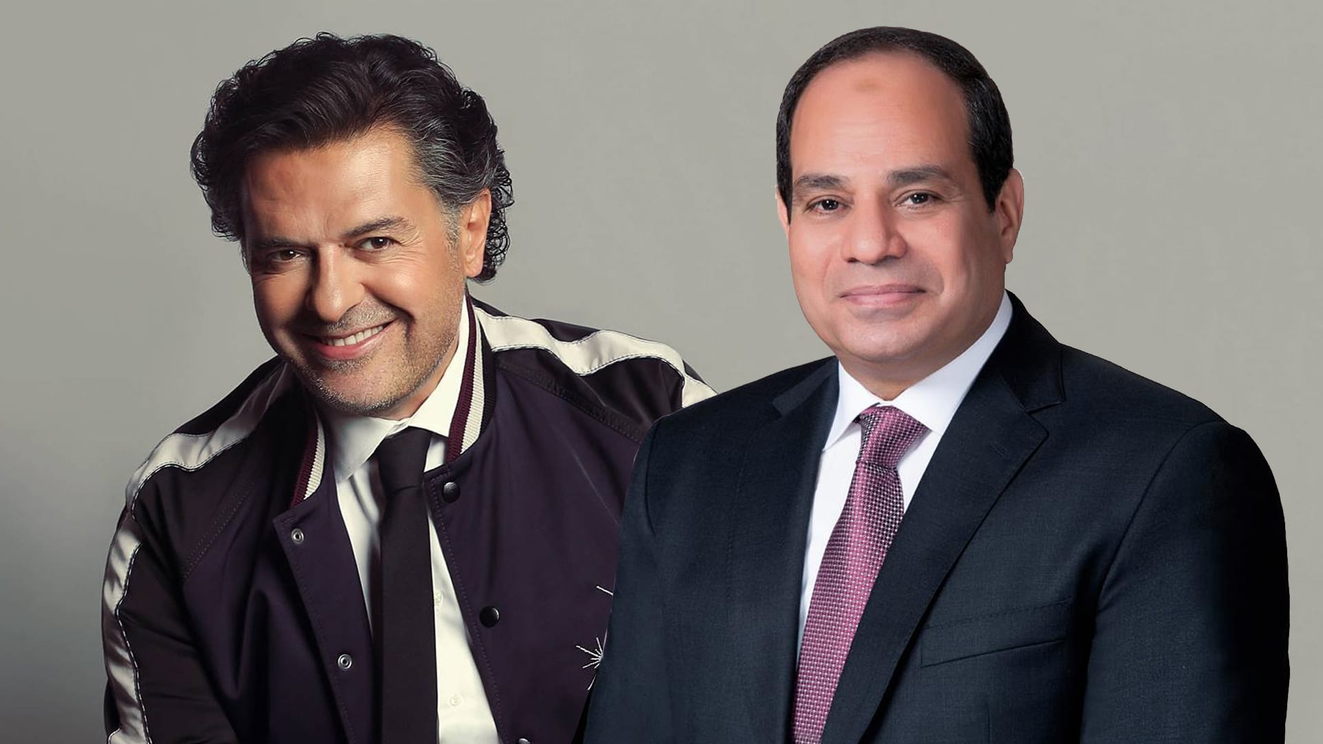 """""""راغب علامة"""": «أتمنى رئيساً للبنان مثل السيسي» ومصريون يسخرون :خذه معك!"""
