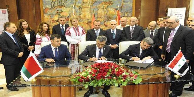 اتفاقيات بين سوريا وبيلاروسيا لبيع القمح والنفط… لكن على الورق!