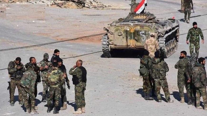 """بسبب «الفساد المالي» اعتقال أربعة قادة من مليشيا """"الدفاع الوطني"""" بريف الرقة"""
