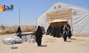 """خلال أيام.. دفعة جديدة من السورييّن إلى خارج """"مخيم الهول"""""""
