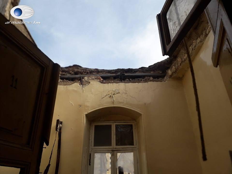 انهيار سقف في فندق يودي بحياة أحد نزلائه بمدينة حلب