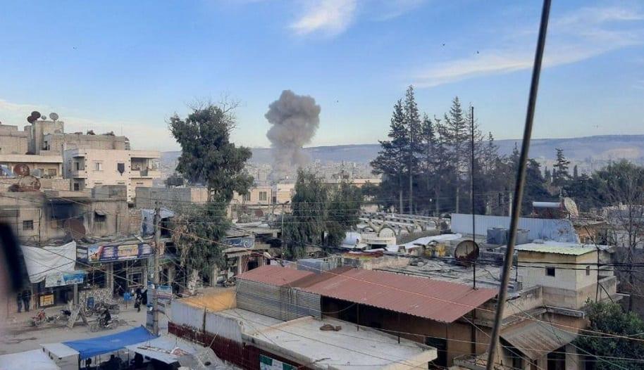 """قتيلان و22 جريحاً بانفجار سيارة مفخخة وسط مدينة """"عفرين"""" شمالي حلب"""