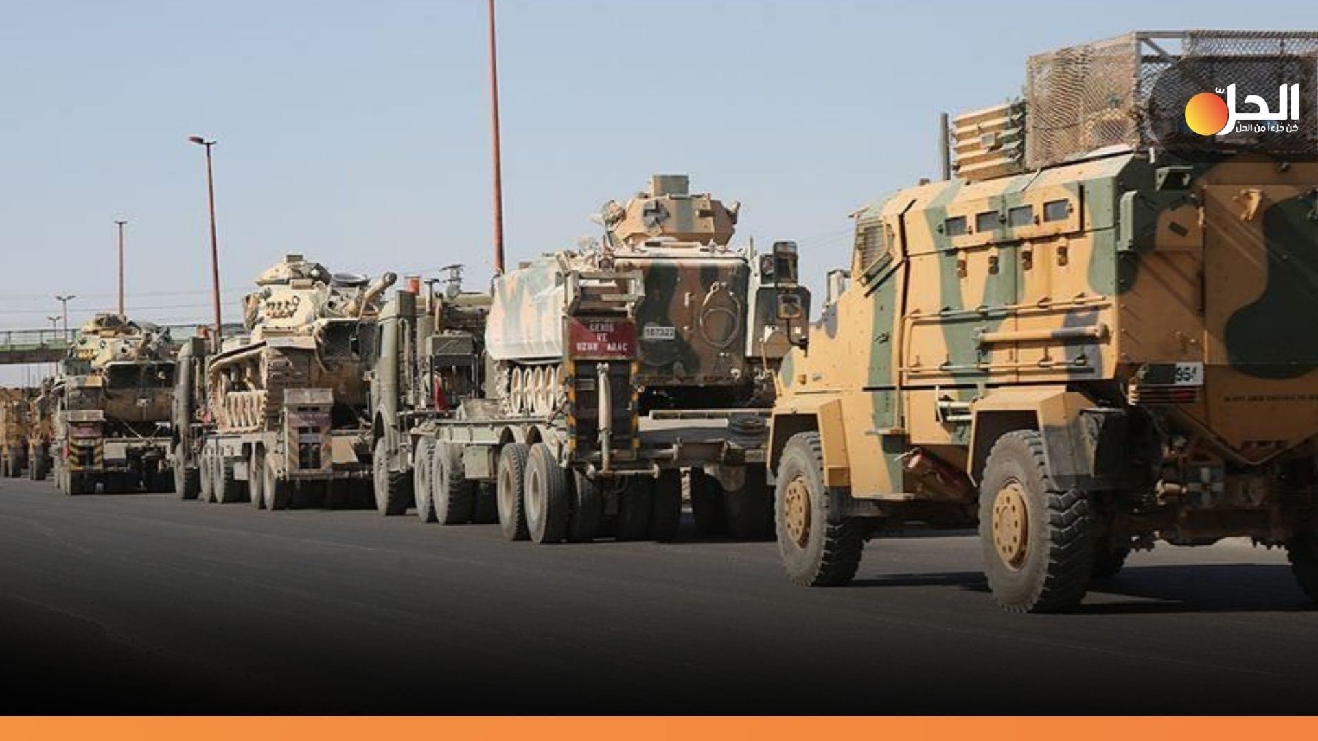 القوات التركية تُنهي سحب قاعدتها العسكرية غربي حلب