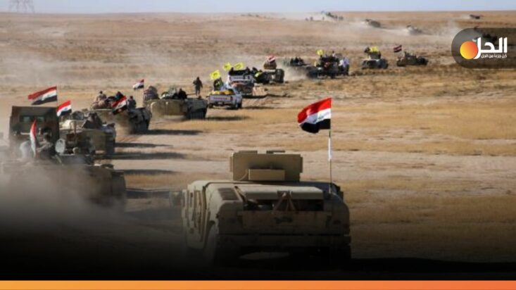 """استهداف رتل عَسكري عراقي في الموصل.. """"داعش"""" هُوَ المُتّهَم"""