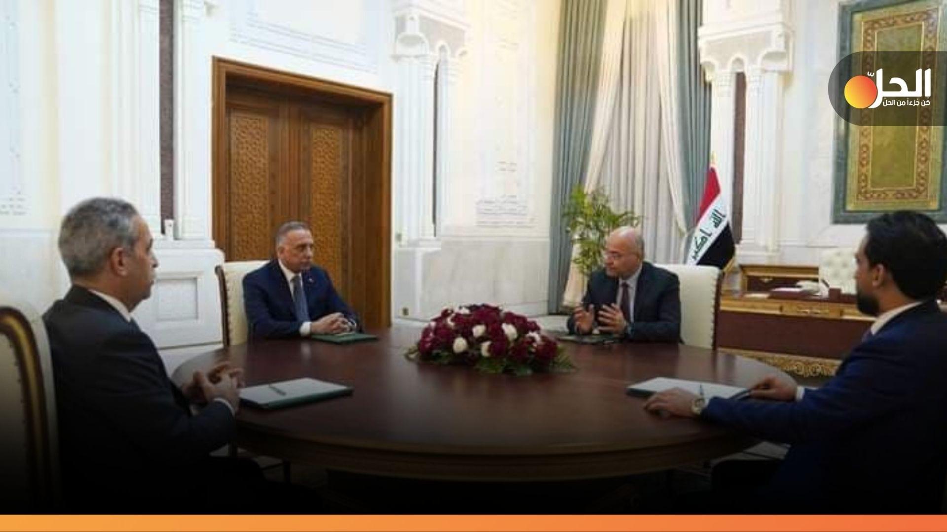 الرئاسات العراقية تدعم إجراء الانتخابات بَعيداً عن سطوة السلاح المُنفلت