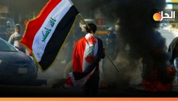 التظاهراتٌ تعود في بابل: قطعٌ للطرق الرئيسيّة بالإطارات المُشتعلَة.. لهذا السبَب