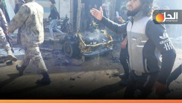 ضحايا مدنيّون بانفجار سيّارة مفخخة شمالي حلب