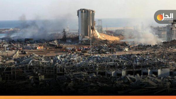 """شركة """"كومبي ليفت"""" الألمانيّة تنتهي من إزالة الكيماويات من حاويات بيروت"""